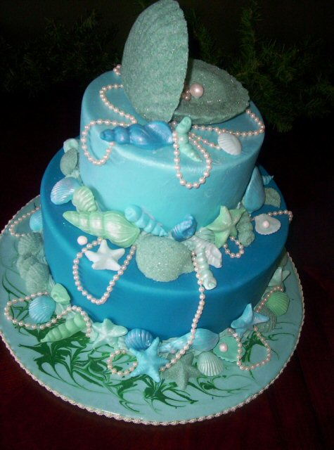 Ocean Birthday Cake Pinterest