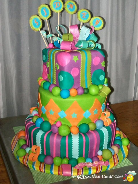 Fondant Cake Design For Birthday : Childrens birthday cakes serving the Woodlands and greater ...