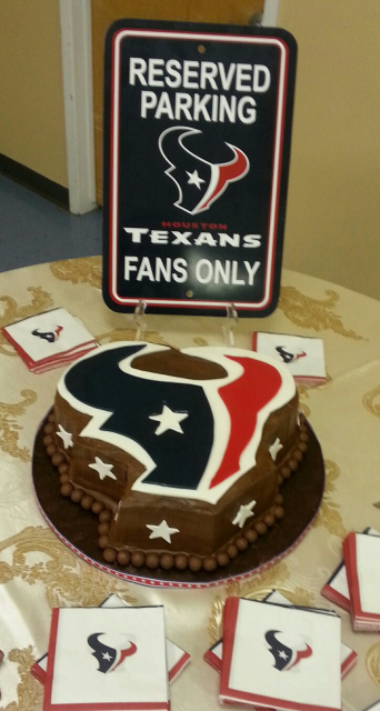 Texan Inspired Grooms Cake
