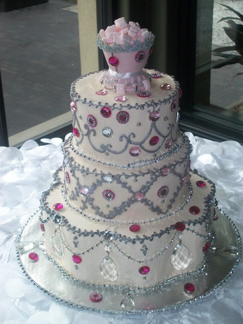 Custom bridal shower cakes serving the Woodlands and ...