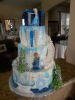 Frozen Cake with stairs