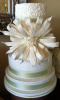 Big Bow and Pearls Cake