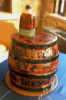 Bulleit Rye Whiskey Barrel Cake