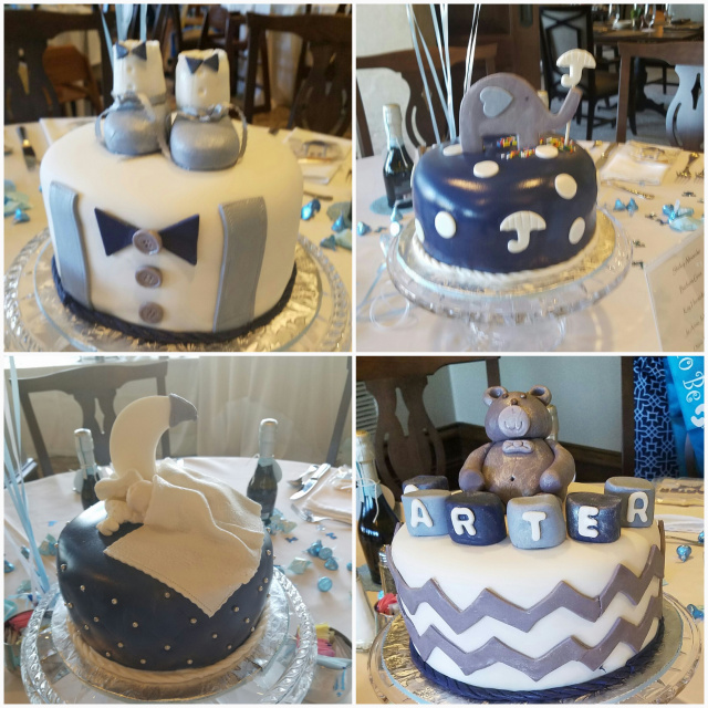 Cool Custom Cakes And Cupckes For Your Baby Shower In The Woodlands And Personalised Birthday Cards Veneteletsinfo