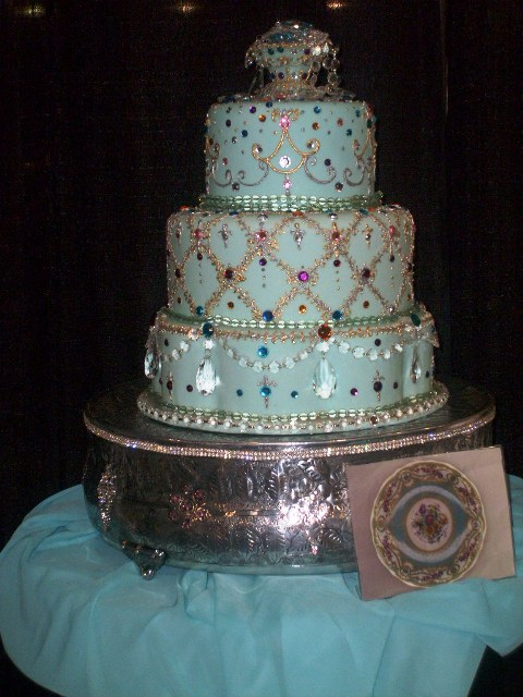 Royal Elegance Fondant in Jewels