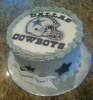 Dallas Cowboy Fan  Cake