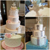 Collage of Communion Cakes