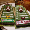 End Zone Cake