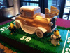Ramblin' Wreck of GA Tech Cake
